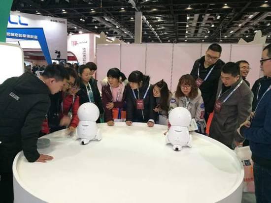 KEEKO教育机器人亮相北京教育装备展示会