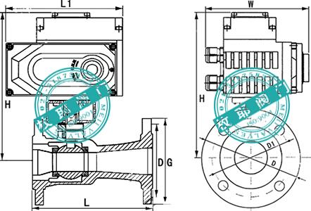 电动高温球阀Q941M
